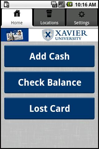 Xavier ALL Card- screenshot