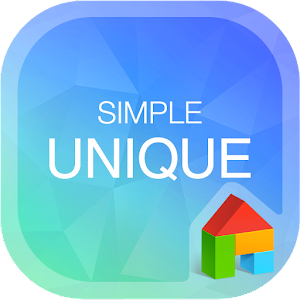 SimpleUnique LINELauncherTheme download