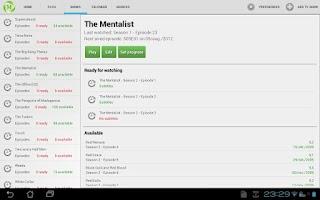 Screenshot of Medi: Media Center for Android