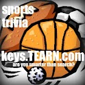 Basketball Cheerleaders (Keys) logo