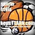 Basketball Cheerleaders (Keys) logo