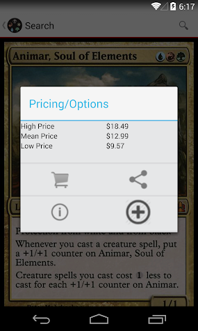 Magic: Deck Builder Screenshot
