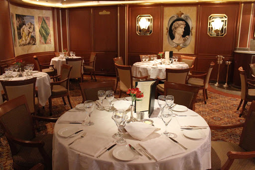 Emerald-Princess-Michelangelo-Restaurant - Head to the Michelangelo restaurant for anytime dining on Emerald Princess.