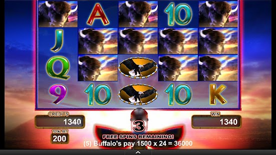 Buffalo Gold Video Slot Game- screenshot thumbnail