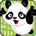Panda Happy Jump - Fruit Quest icon