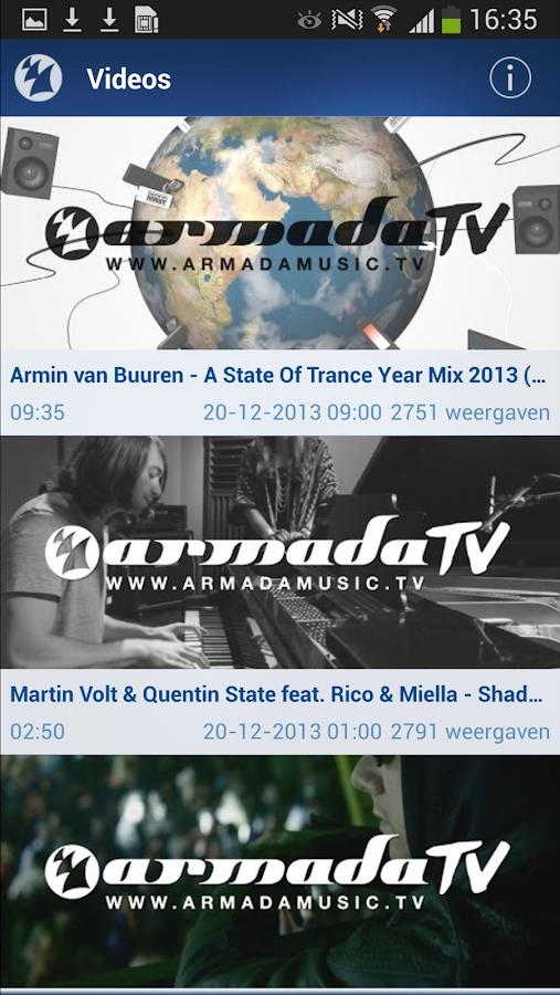 Armada Music - screenshot