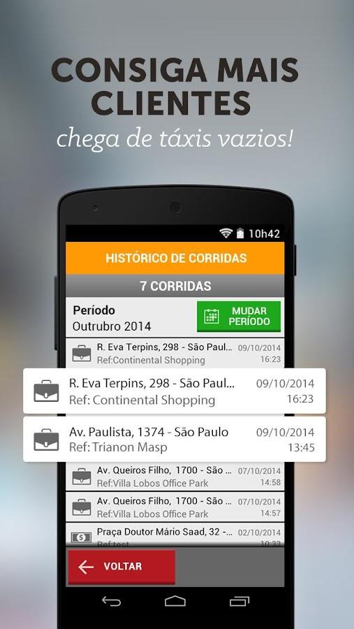 Easy Taxi - Versão do Taxista - screenshot