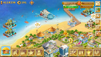 Screenshot of Paradise Island