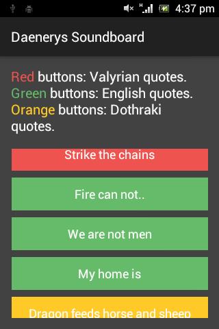 Daenerys Soundboard