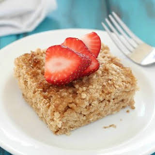 Healthy Baked Oatmeal.