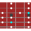guitar/bass scale table icon