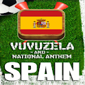 SPAIN VUVUZELA and ANTHEM! logo