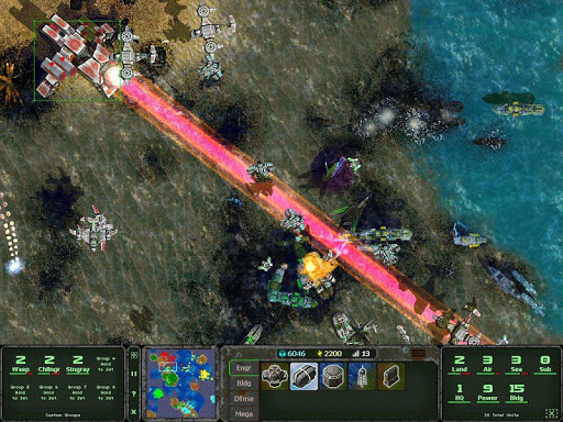 Land Air Sea Warfare RTS 1.0.16 androidappsheaven.com 7