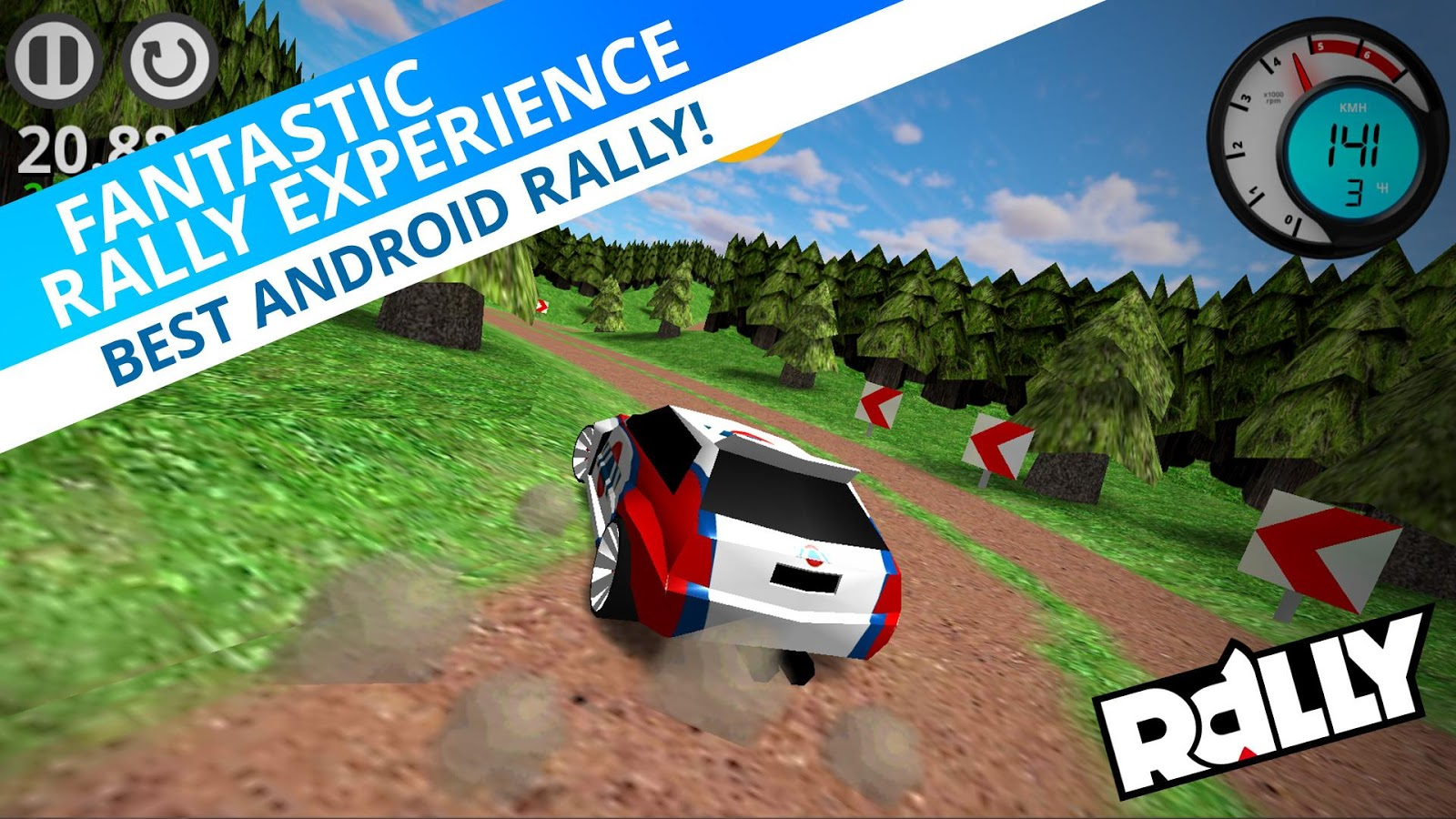 Rally- screenshot