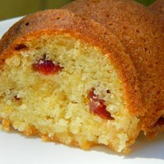 Orange Crunch Cake