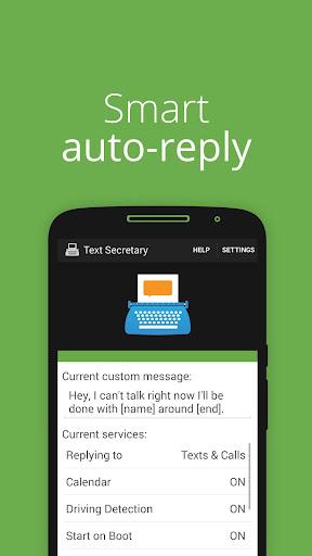 Text Secretary - Auto SMS