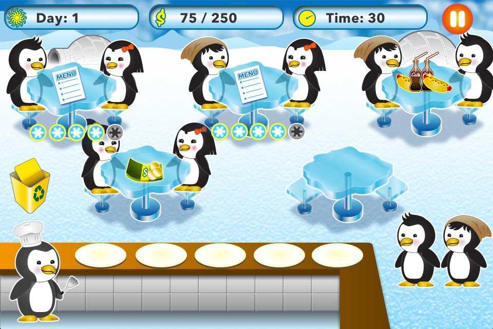 Penguin-Restaurant-Waitress 20