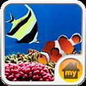 Coral Ocean Theme icon