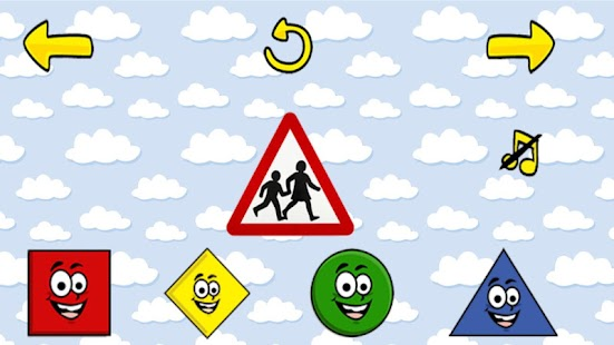 Kids Happy Shapes Game - screenshot thumbnail