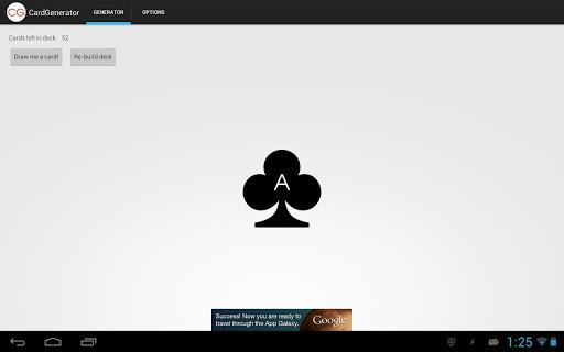 玩娛樂App|CardGenerator - Random Cards免費|APP試玩