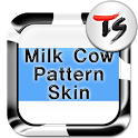 Milk cow Skin for TS Keyboard icon