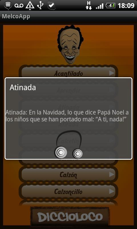 Melcochita App - screenshot