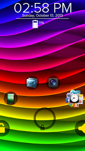 Rainbow Wave - Start Theme - screenshot thumbnail