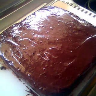 Eggless Chocolate Cake I.