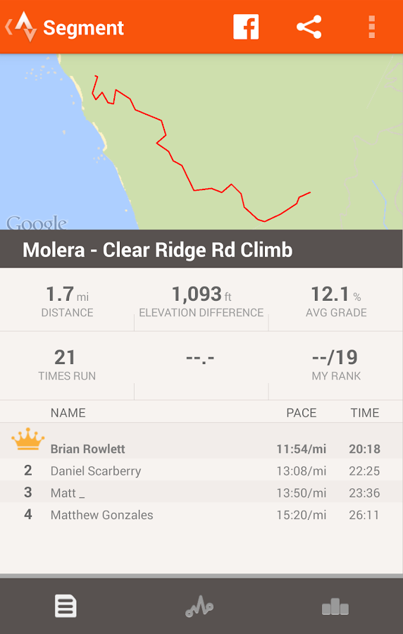 Strava Running and Cycling GPS - screenshot