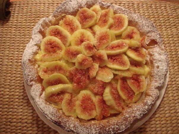 Fresh Fig Puff Pastry Tart Recipe