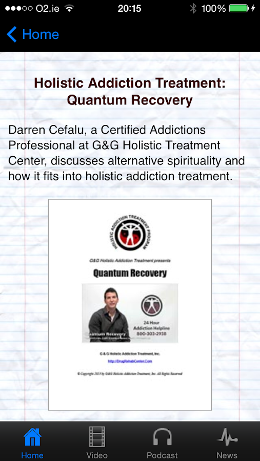 drug recovery apps for android
