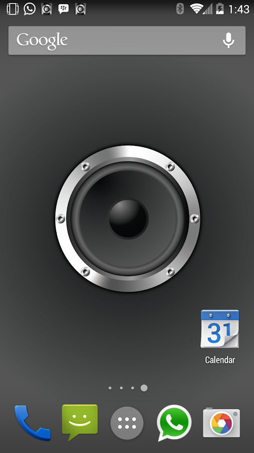 Live Wall Speaker (Wallpaper) - screenshot