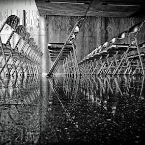 by J W - Black & White Objects & Still Life ( #GARYFONGDRAMATICLIGHT, #WTFBOBDAVIS,  )