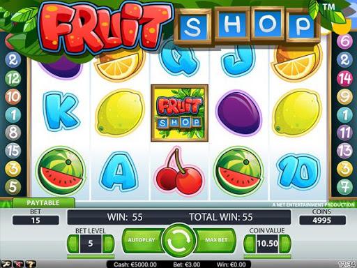 Saga Fruit Slot Machine
