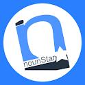 NounStar Language Study – Free logo