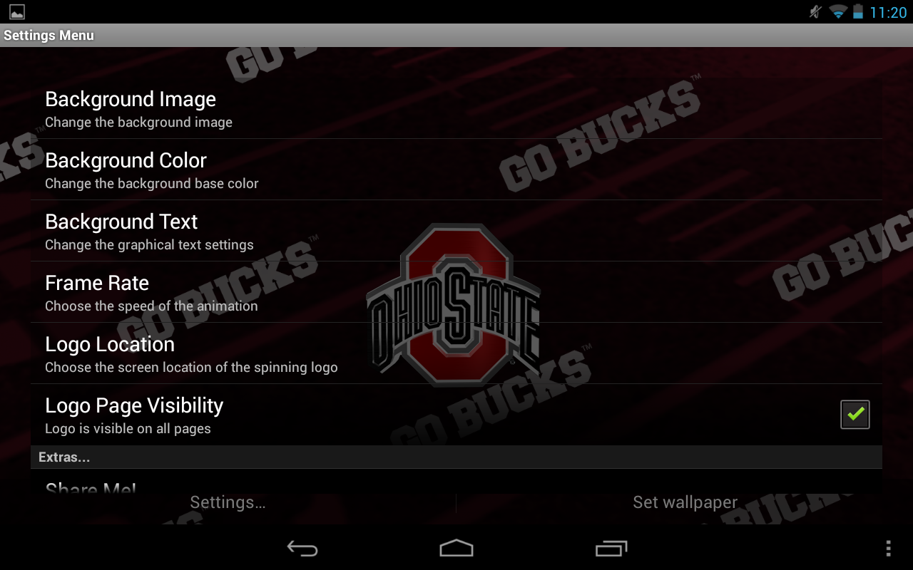 Ohio State Live Wallpaper HD- screenshot
