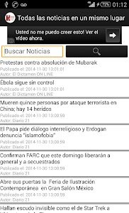 Directorio Hoy Noticia screenshot 0