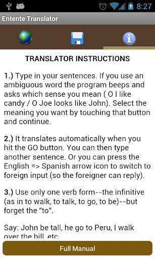 Entente Translator