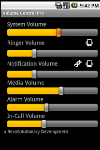 Volume Control Pro - screenshot thumbnail