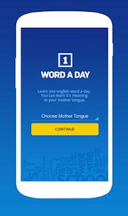 One Word a Day Screenshot 1