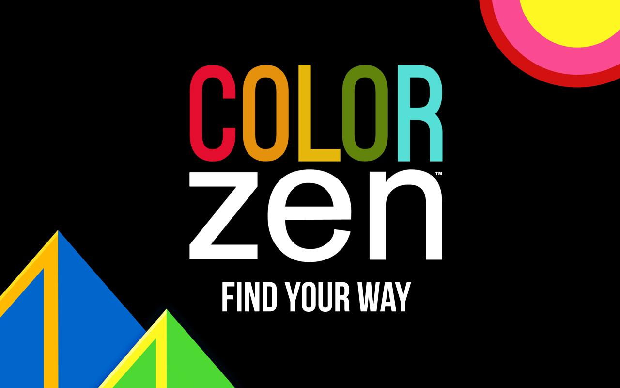 Zen coloring books for adults app - Color Zen Screenshot