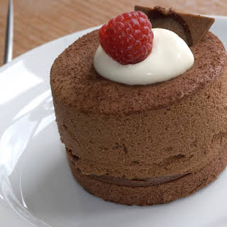 Mini Chocolate Cheesecakes.