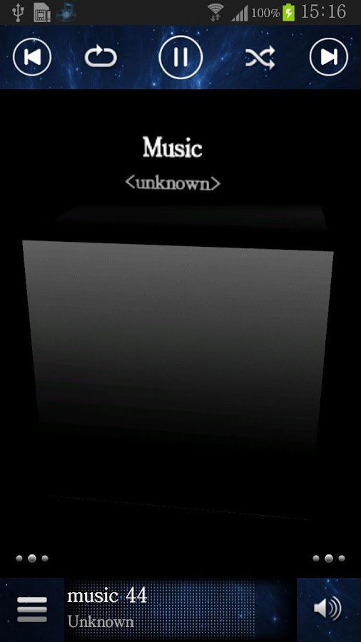 Music Player TTSPod - screenshot