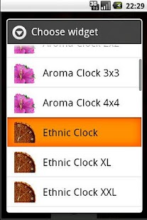 Ethnic Clock - screenshot thumbnail