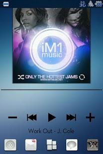 Blue Unity CM7 Theme(Trans)- screenshot thumbnail