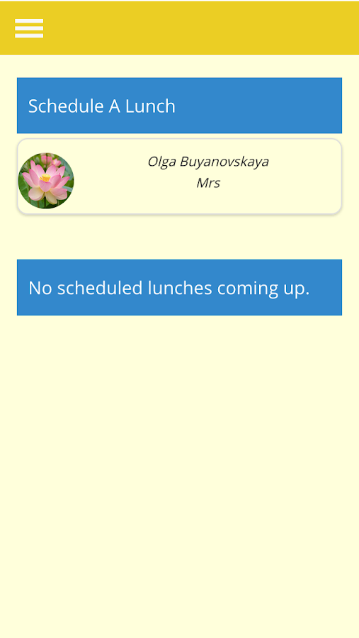 LunchPath- screenshot
