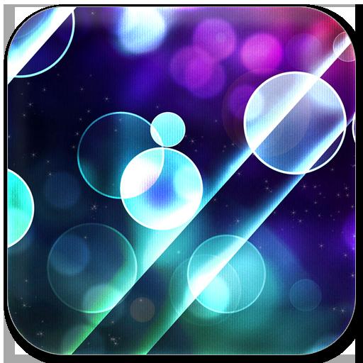 彩色泡泡態壁紙屏幕鎖 個人化 App LOGO-APP試玩