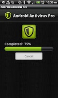 Screenshot of Antivirus Pro for Android