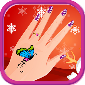 Nail art christmas games for PC and MAC