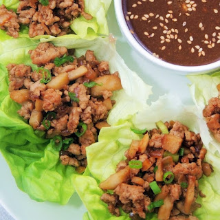 Copycat PF Chang's Chicken Lettuce Wraps.